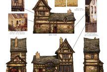 D&D Дома/Поселки/Карты