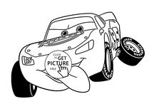 Cars coloring pages / Cars Disney movie coloring pages
