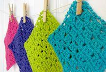 Kitchen/bathroom crochet