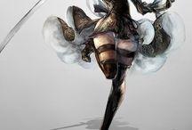 Inspiration dessins armure