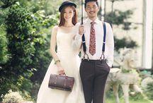 wedding photo korean