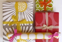GIFT WRAP & STATIONARY / fun gift wrap ideas. / by Ingrid @ {Houndstooth and Nail}