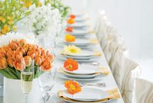 WEDDING | modern + simple / Modern wedding reception that is simple and elegant. Clean style that isn't too minimal but just enough.  / by Zha Zha