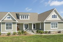 The Claire / The Claire, built by Corey's Construction, was designed with country living in mind!