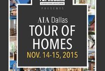 AIA Dallas Tour of Homes / il granito made it again! Our masterpieces will be featured on this year's AIA Dallas Tour of Homes!