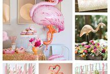 Flamingo Fab! / flamingo inspired decor, event and fashion trends