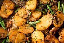poêlée légumes et viande