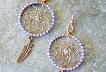 Dreamcatcher earrings/bracelets