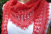 clothing creations / Crochet scarves and accessories and such