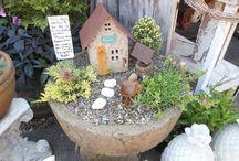 Fairy Garden Ideas / Miniature Fairy Gardens: Fairy furniture and homes