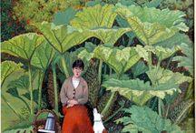 ( Ladies ) in the garden
