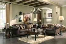 LONGDON PLACE - CHOCOLATE SOFA AND LOVESEAT
