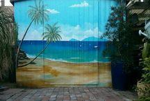 Paint mural