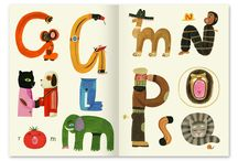 children lettering and type