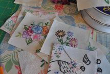 Vintage Embroidery / Vintage embroidered linens are so beautiful.