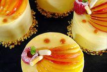 Le Péché Mignon base financier mousse caramel beurre salé et pêche