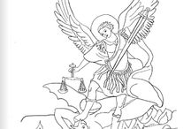 Catholic Coloring Pages / by Suzanne McGuire