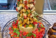 Christmas Parties / Here are a few examples of Parties we have catered for Christmas gatherings.  www.twofatmencatering.com