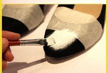DIY topánky