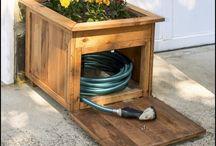 hose pipe storage