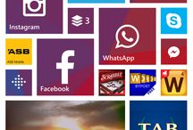 Windows Phone Start screens / I hate linear tiles all lined up I like a bit of chaos