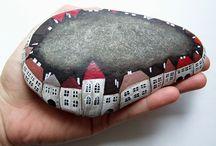 kamínky / malování na přírodní materiál