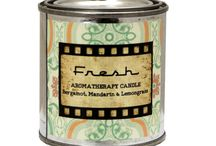 BEESWAX AROMATHERAPY CANDLES