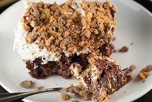 Desserts.  / by Kim Bloomstrom