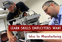 Advanced Manufacturing / by Eastern Iowa Comm. Colleges