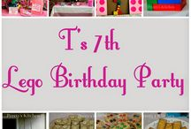 T's 7th Lego Birthday Party