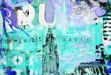 Kunst trouwkaarten ☆ / Ik maak kunst trouwkaarten. Een kaart kan helemaal naar wens, ideeën en kleur uitgevoerd worden. Op maat gemaakt.