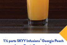 FALL FESTIVITIES / Autumn means new flavors, new fruits and seasonal cocktail enjoyment. Warm up with recipe from SKYY Vodka and SKYY Infusions for every fall event, from evening entertaining to Sunday football.