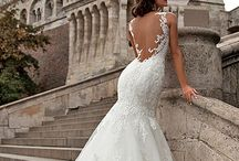Open back wedding