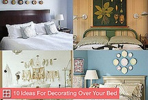 Bedroom ideas / by Sarah Gail
