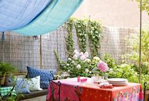 House to Home: Exterior / Inviting outdoor living- patios, pergolas, decks / by Rebecca Marsh