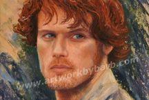 Jamie I Love You / Outlander Series Diana Gabaldon Jamie Fraser