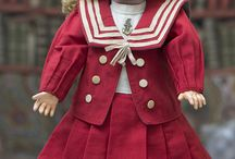 кукольная одежда-матроска