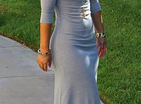 maxi dresses, skirts and suits