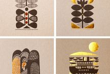 Folklore / Folkish inspired art, patterns, colors and design