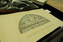 #Exposició_Oriol_Bohigas_PORTAFOLI / Exposició  amb motiu de l'acte d'homenatge a Oriol Bohigas, el 28 d'abril de 2017. Selecció de llibres, revistes i documents de l'Arxiu Gràfic de l'ETSAB d'Oriol Bohigas.  Vestíbul de la Biblioteca Oriol Bohigas. ETSAB. Abril-juny 2017.