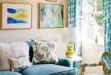 oturma odası petrol mavisi