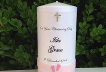 Christening Candles - Girls - Flickering Moments / Flickering Moments Candle & Gift Designs presents its collection of hand designed and decorated personalised candles & gifts. Our stunning candles are designed for all occasions.