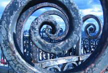 wrought iron, forged metalwork and rust... / by BeeHappy ...