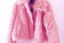 My pink furry coats