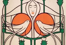 Charles Rennie Mackintosh / A selection of Mackintosh images, available from around the internet.  http://www.flametreepublishing.com