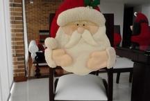 Forros para sillas Navidad