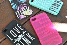 iPhone Casema pink / Hoesjes voor iPhone 4s met pink er op
