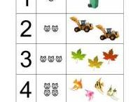 Working sheets for preschoolers / Working sheets for preschoolers