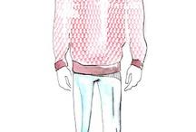 Model sketch illustratie