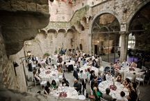 Wedding at Vincigliata Castle by Weddings International / A romantic wedding in a charming castle on the hills of Florence